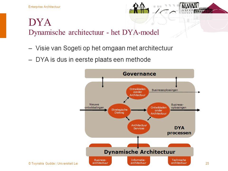 DYA Dynamische architectuur - het DYA-model