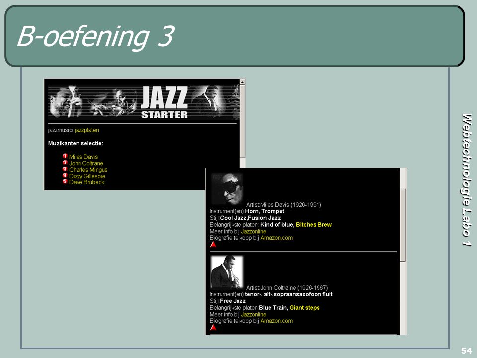 B-oefening 3