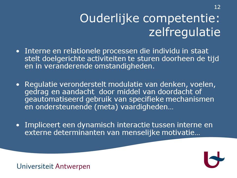 Ouderlijke competentie: basisprincipes