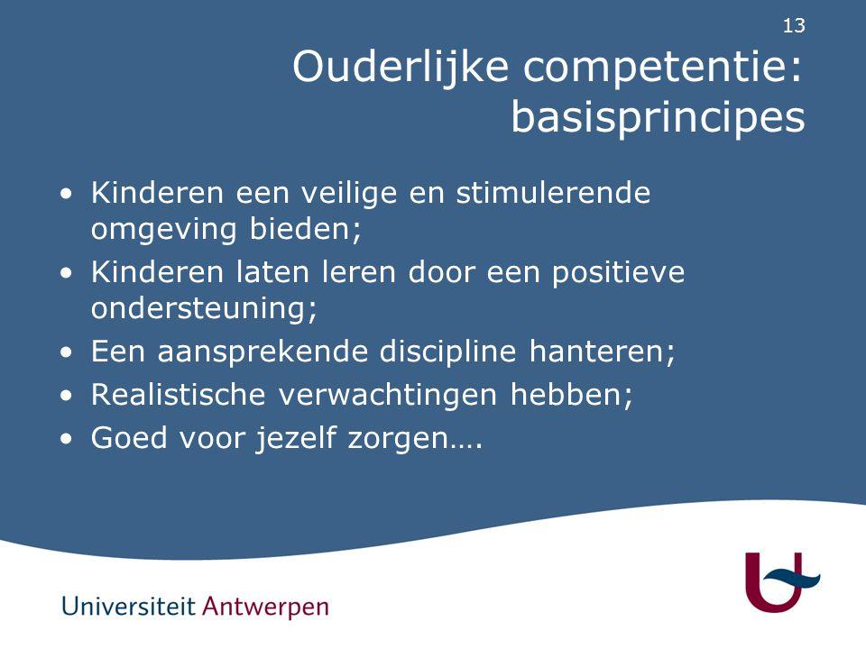 Ouderlijke competentie vaardigheden