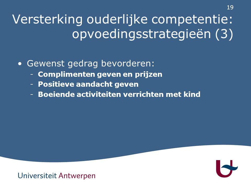 Versterking ouderlijke competentie: hoe aanbieden (1)