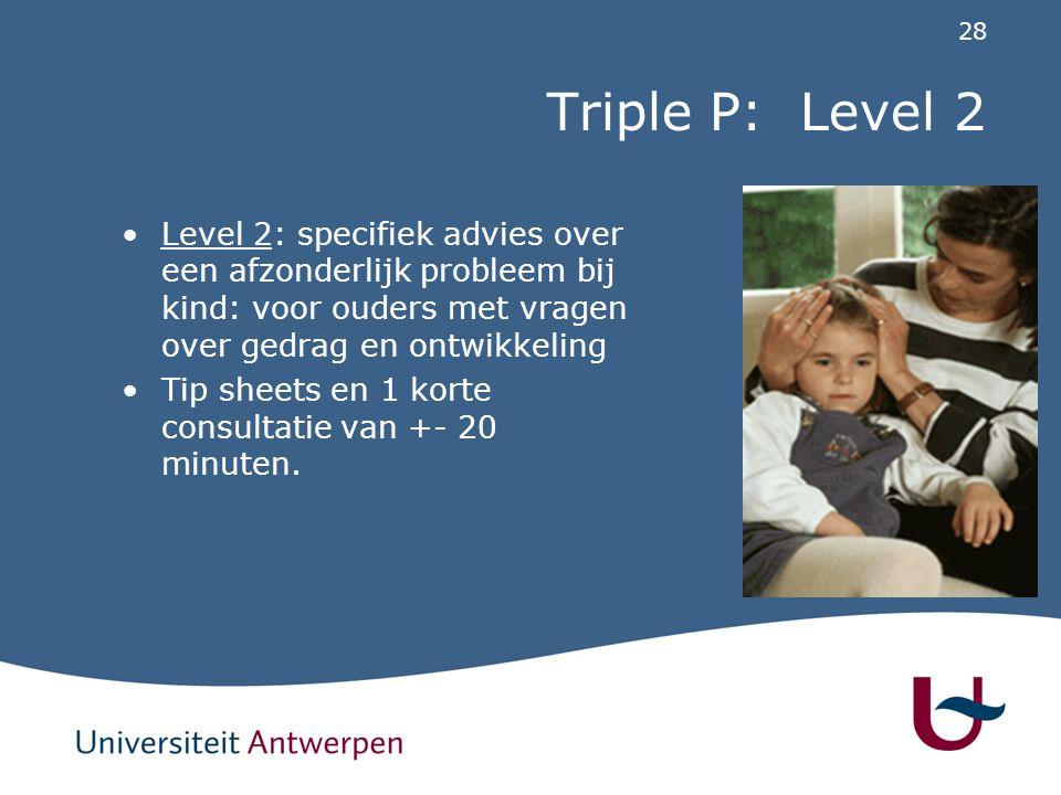 Tip-sheets Verscheidene onderwerpen (meest voorkomende problemen tijdens de opvoeding); probleemgebieden onderverdeeld volgens leeftijdscategorie.