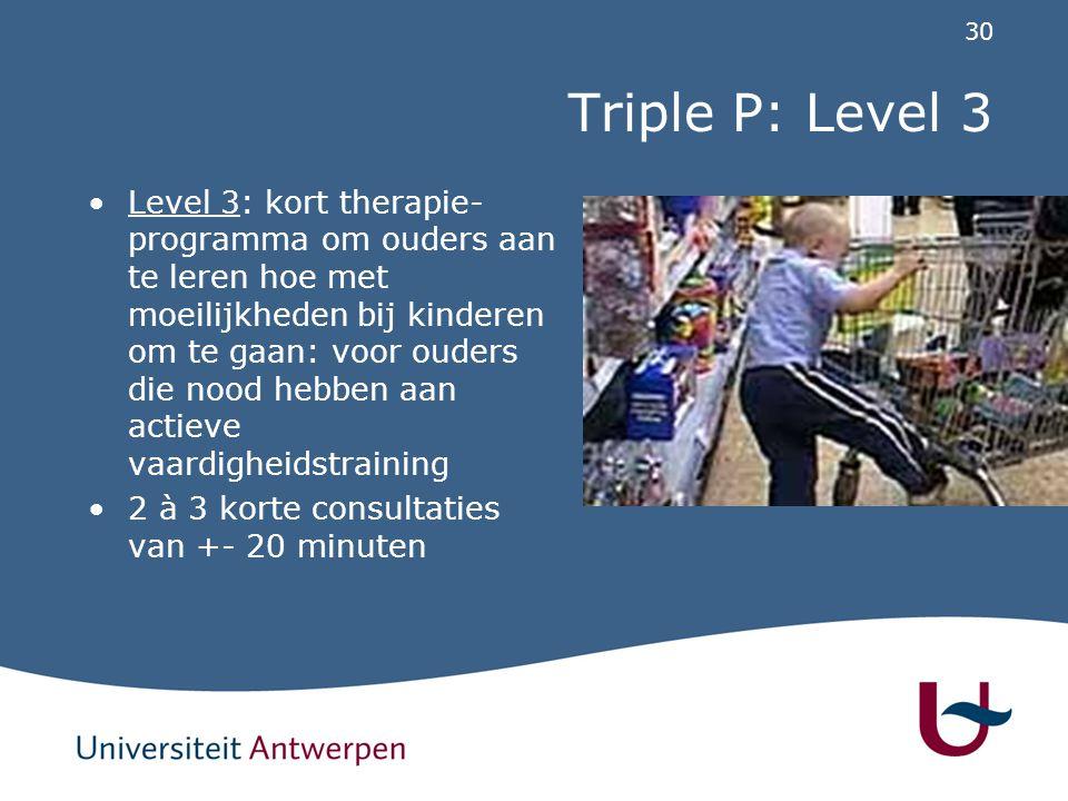 Triple P: Level 4