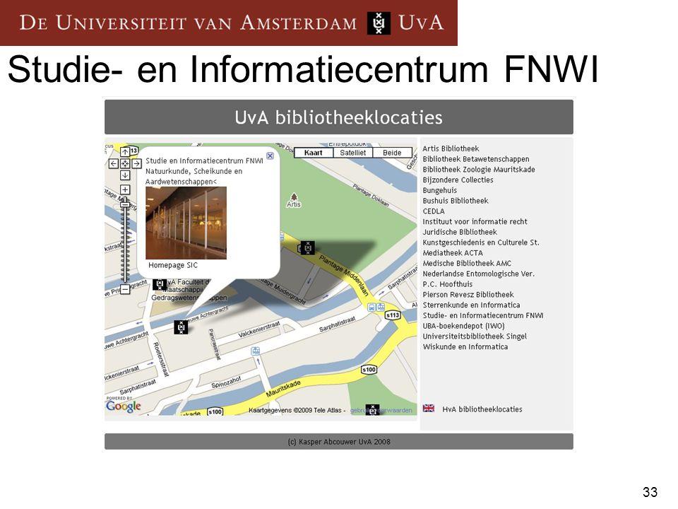 Studie- en Informatiecentrum FNWI