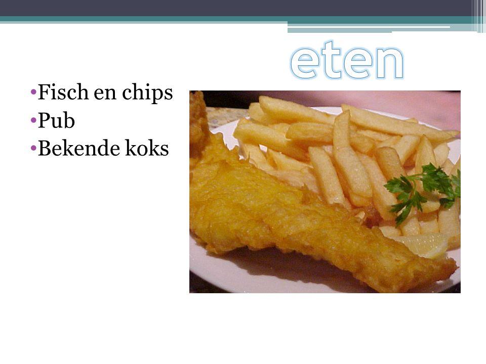 eten Fisch en chips Pub Bekende koks