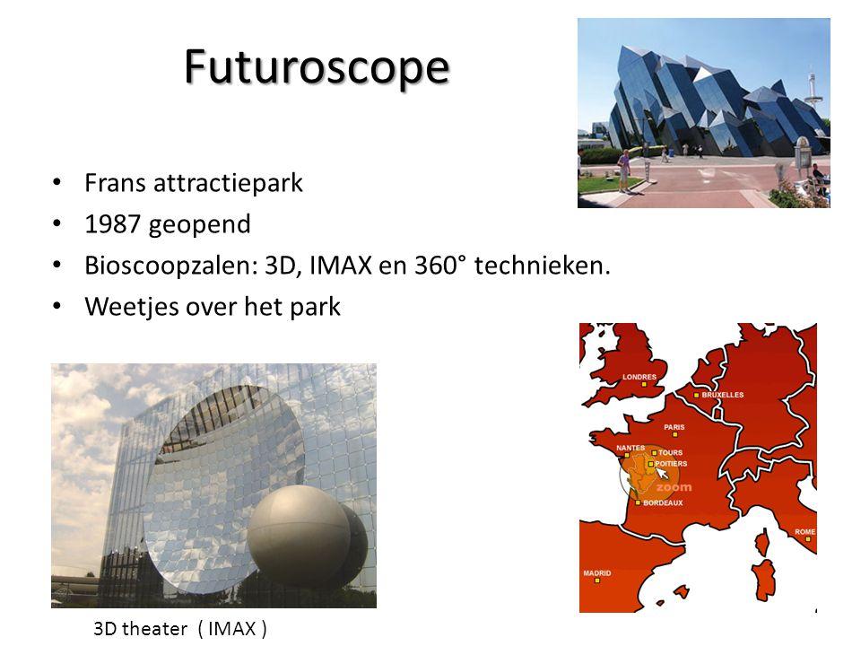 Futuroscope Frans attractiepark 1987 geopend