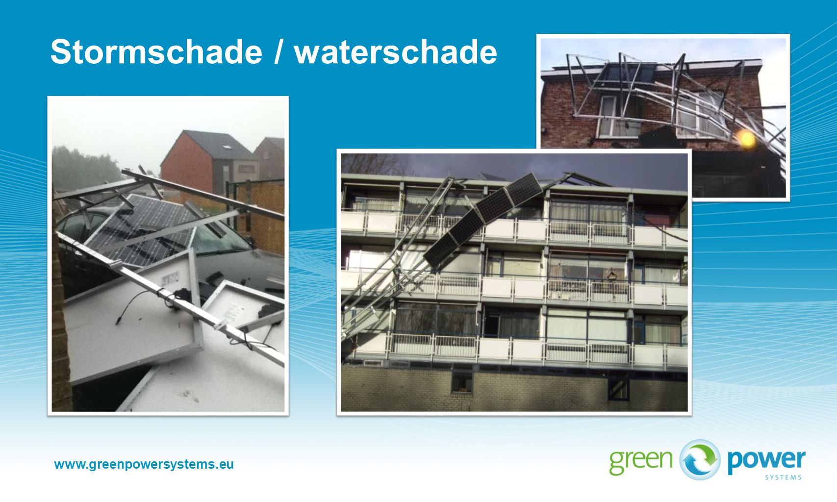 Stormschade / waterschade