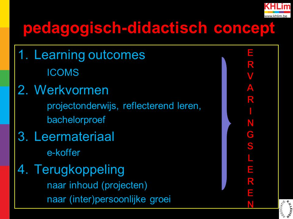 pedagogisch-didactisch concept