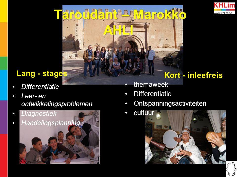 Taroudant – Marokko AHLI