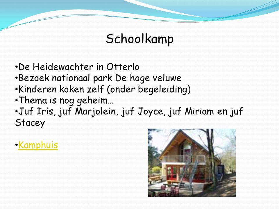 Schoolkamp De Heidewachter in Otterlo