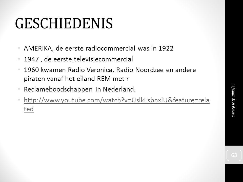 GESCHIEDENIS AMERIKA, de eerste radiocommercial was in 1922