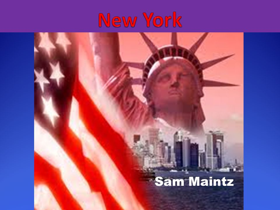 New York Sam Maintz