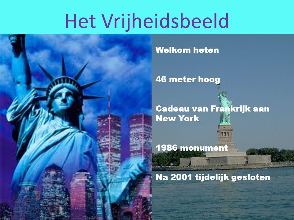 Het Vrijheidsbeeld Welkom heten 46 meter hoog