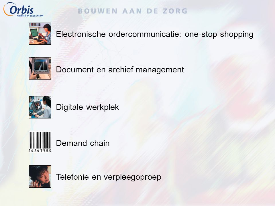 Electronische ordercommunicatie: one-stop shopping
