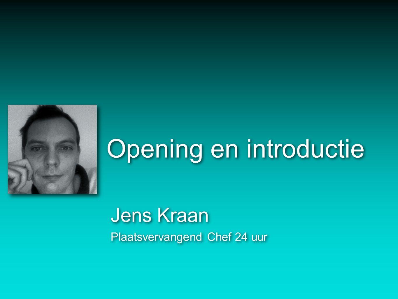 Opening en introductie