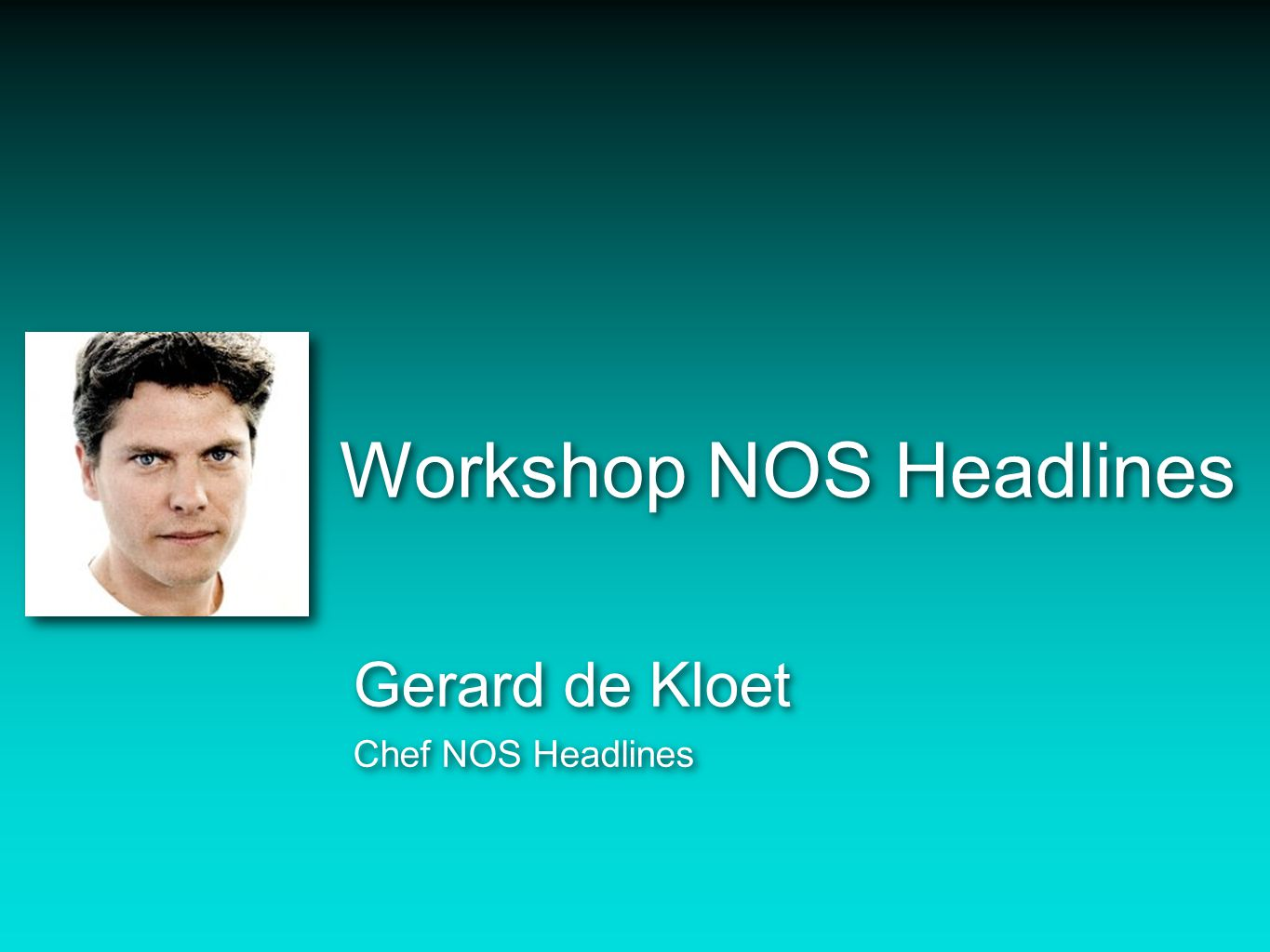 Workshop NOS Headlines