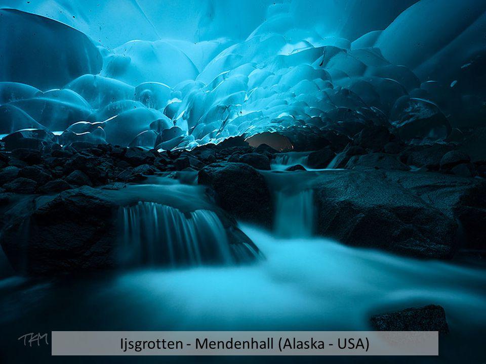Ijsgrotten - Mendenhall (Alaska - USA)