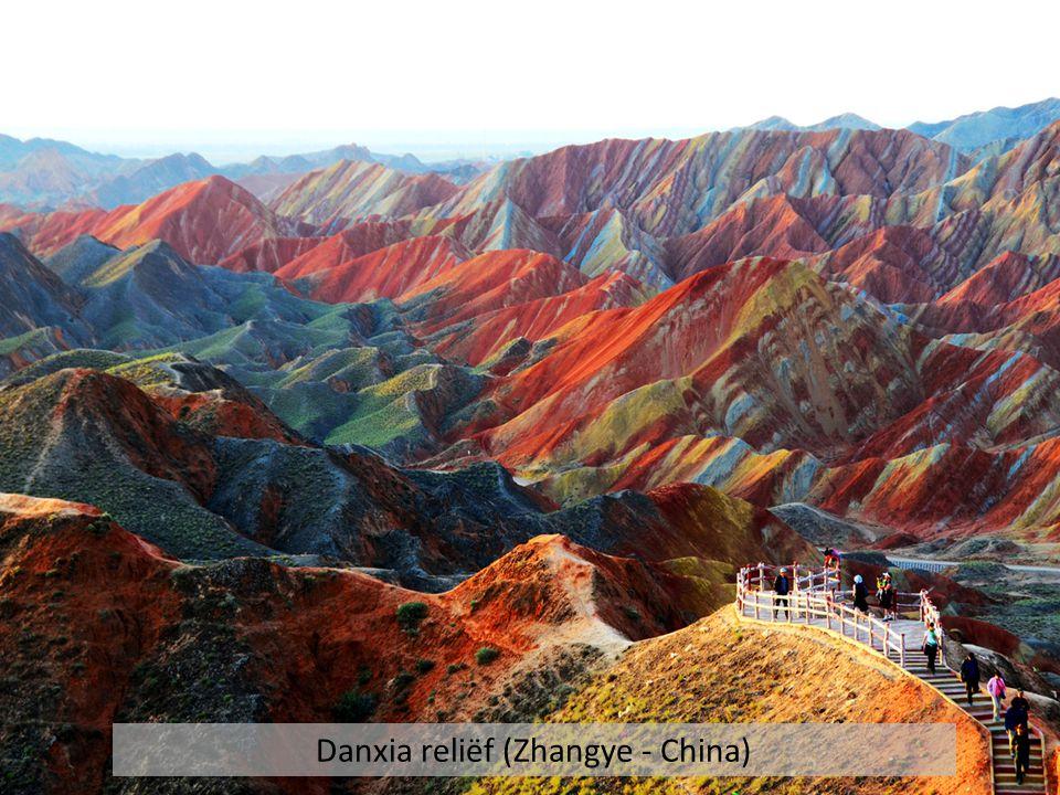 Danxia reliëf (Zhangye - China)