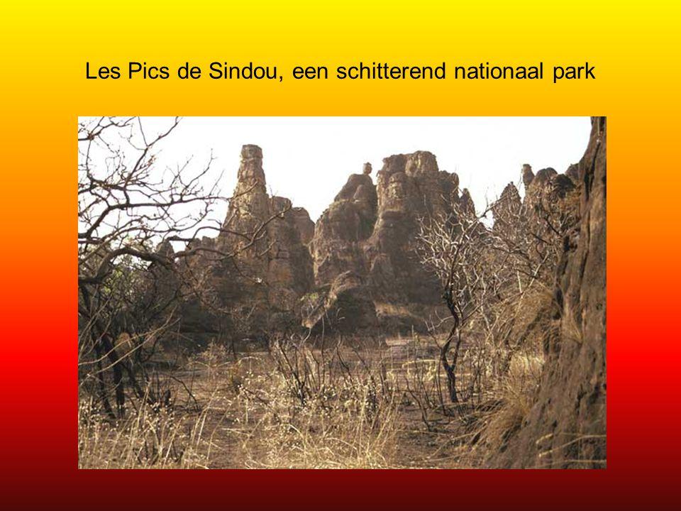 Les Pics de Sindou, een schitterend nationaal park