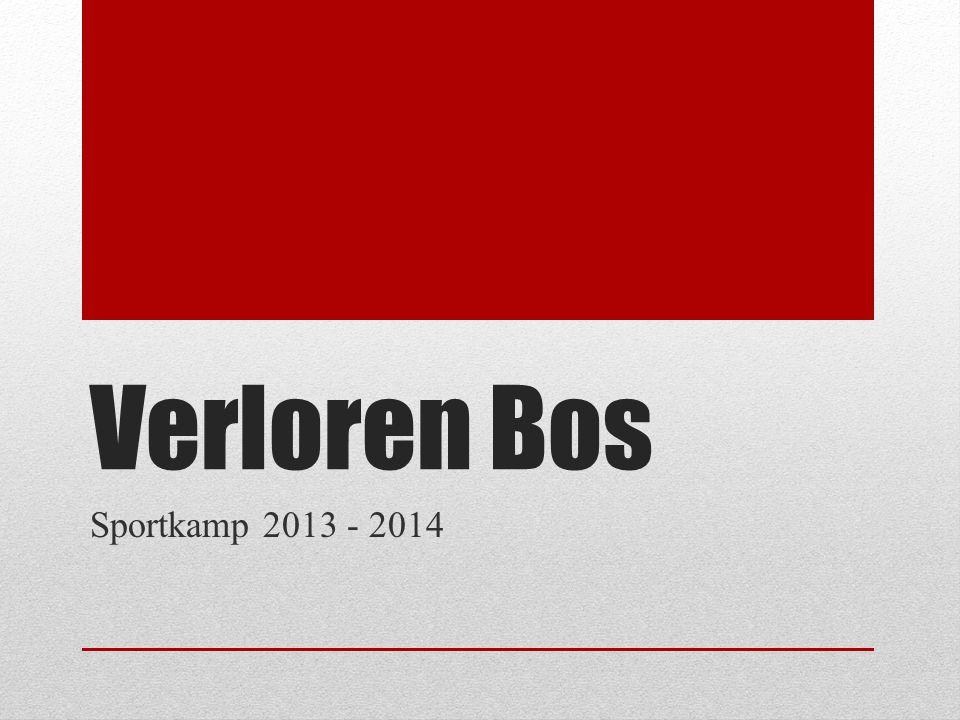 Verloren Bos Sportkamp 2013 - 2014