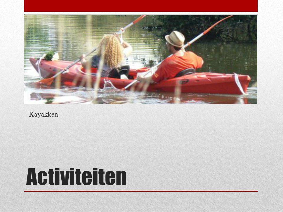 Kayakken Activiteiten