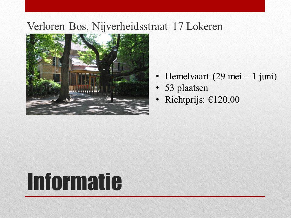 Informatie Verloren Bos, Nijverheidsstraat 17 Lokeren