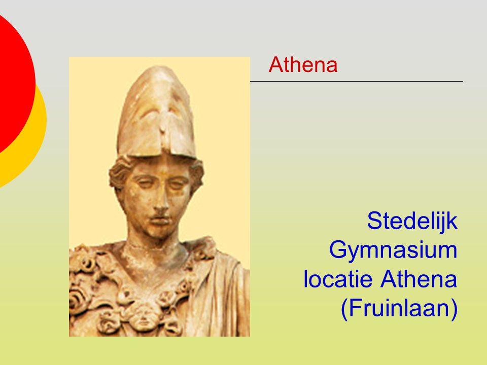 Stedelijk Gymnasium locatie Athena (Fruinlaan)