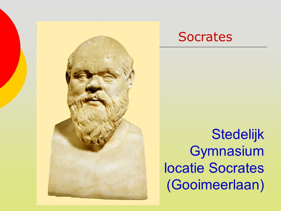 Stedelijk Gymnasium locatie Socrates (Gooimeerlaan)
