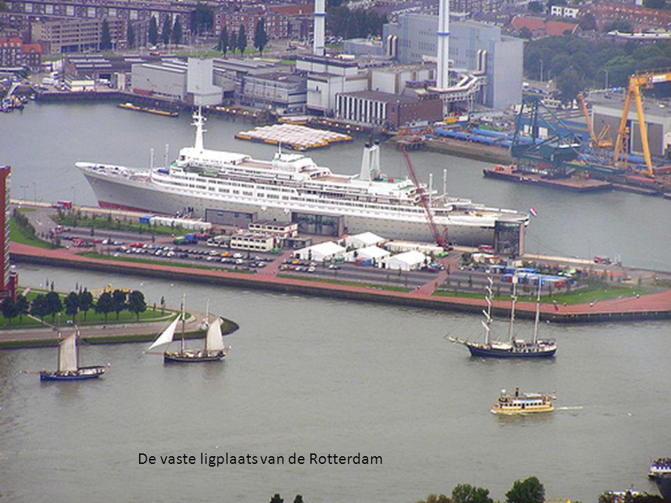 De vaste ligplaats van de Rotterdam