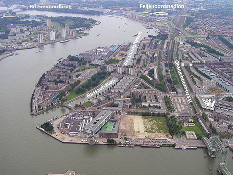 Brienenoordbrug Feijenoordstadion Persoonshaven Oranjeboomstraat Nassauhaven