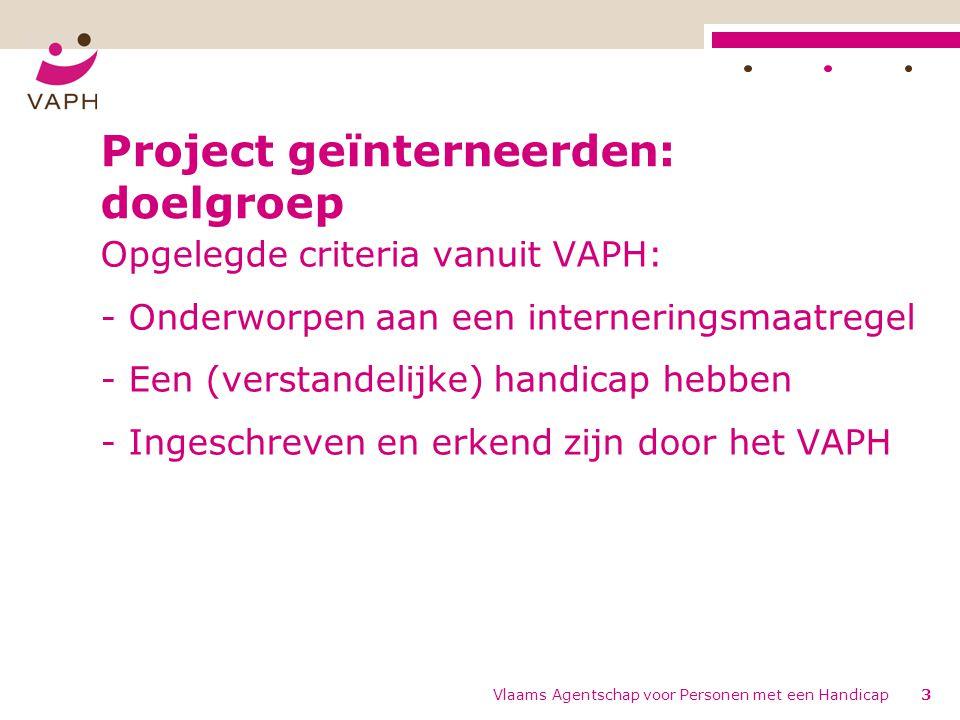 Project geïnterneerden: doelgroep