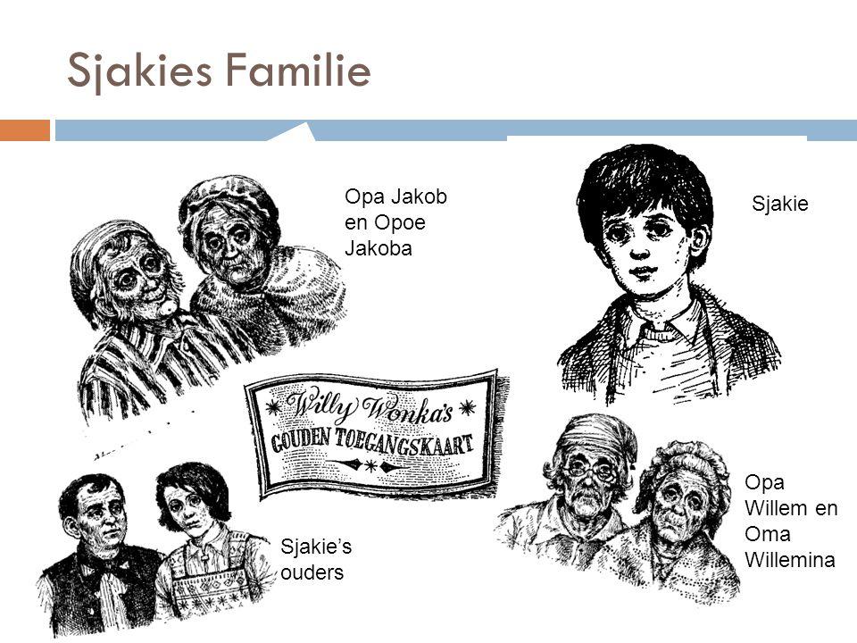 Sjakies Familie Opa Jakob en Opoe Jakoba Sjakie