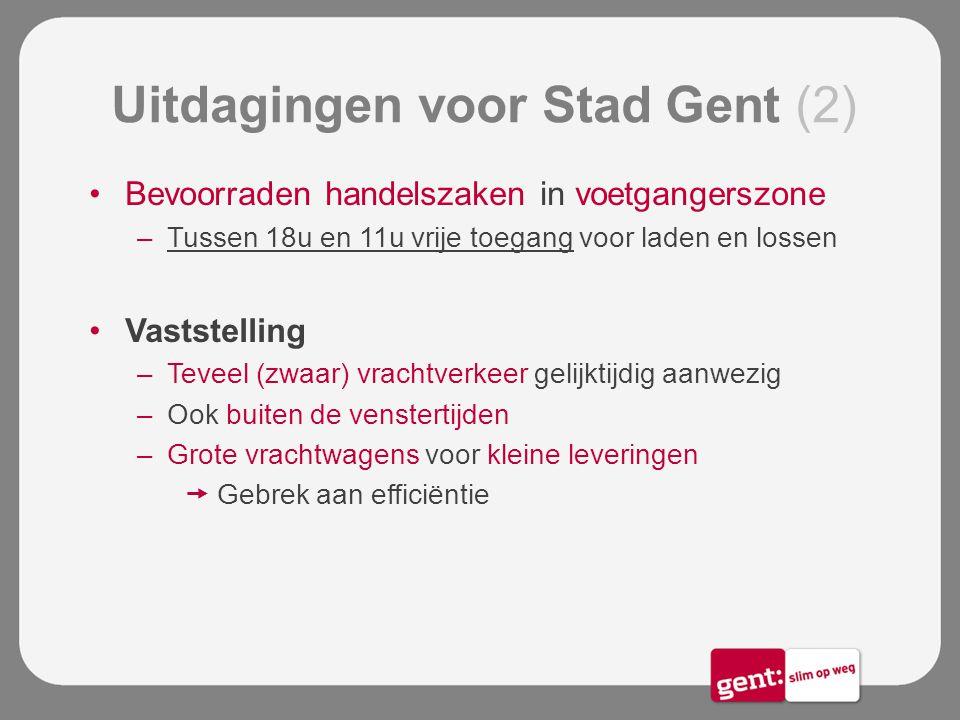 Uitdagingen voor Stad Gent (2)