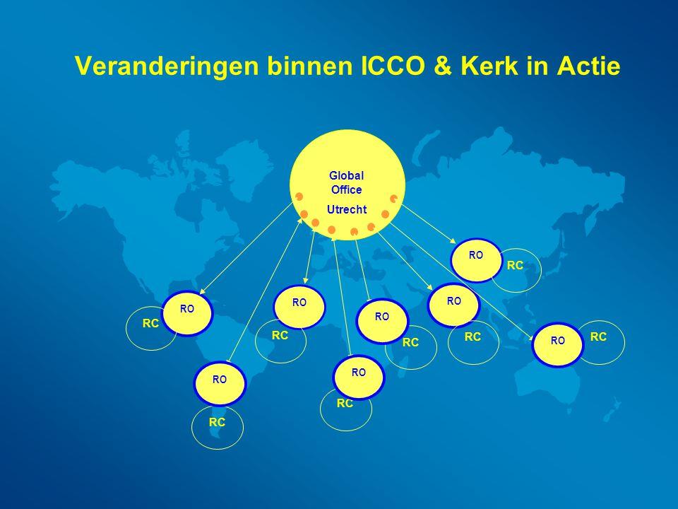 Veranderingen binnen ICCO & Kerk in Actie
