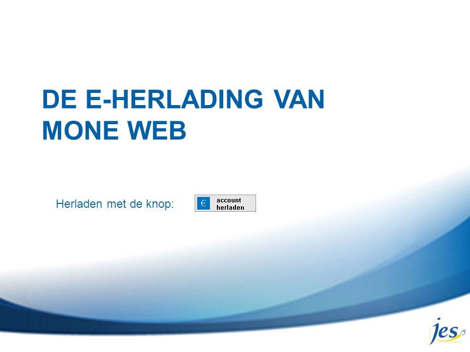 DE E-HERLADING VAN MONE WEB