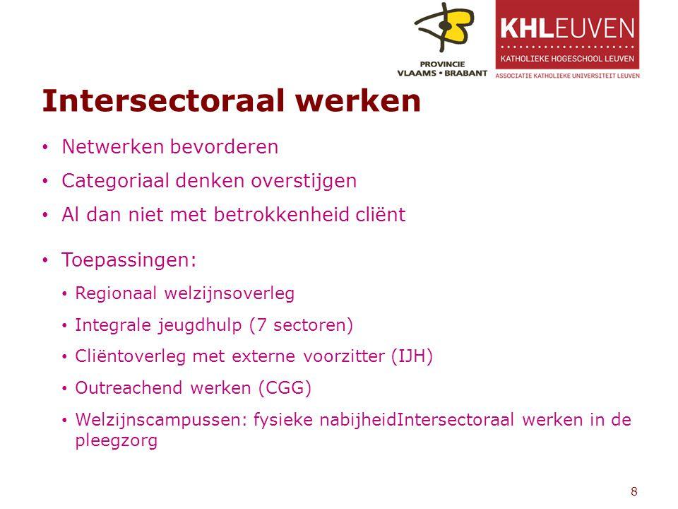 Intersectoraal werken