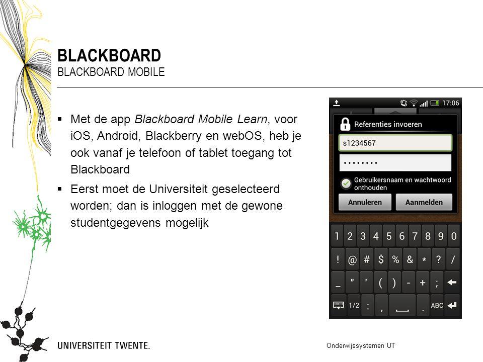 Blackboard Blackboard mobile