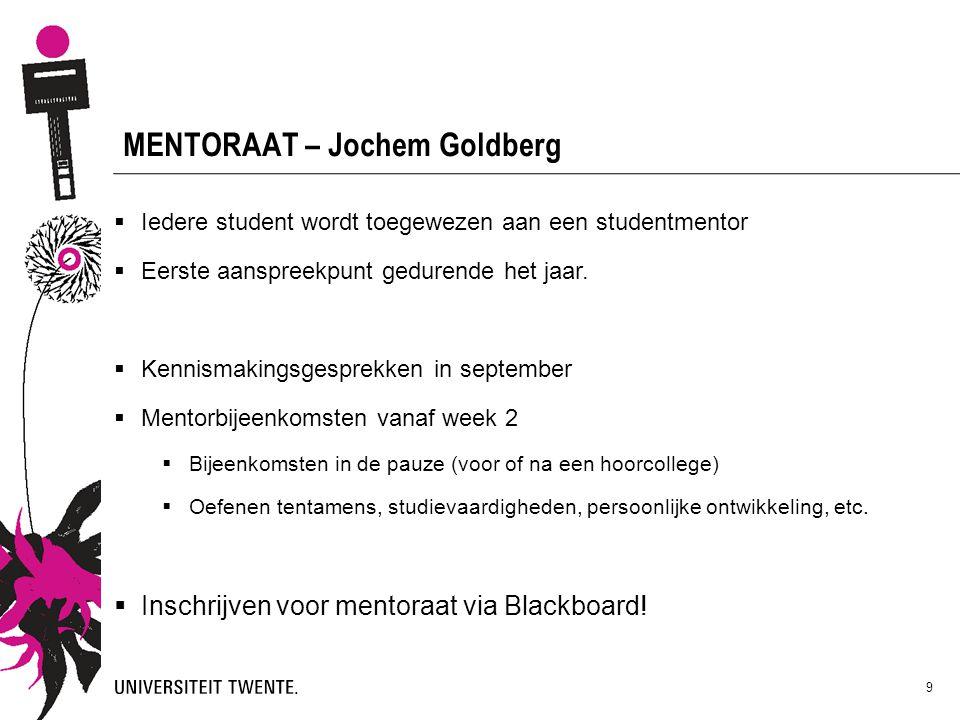 MENTORAAT – Jochem Goldberg