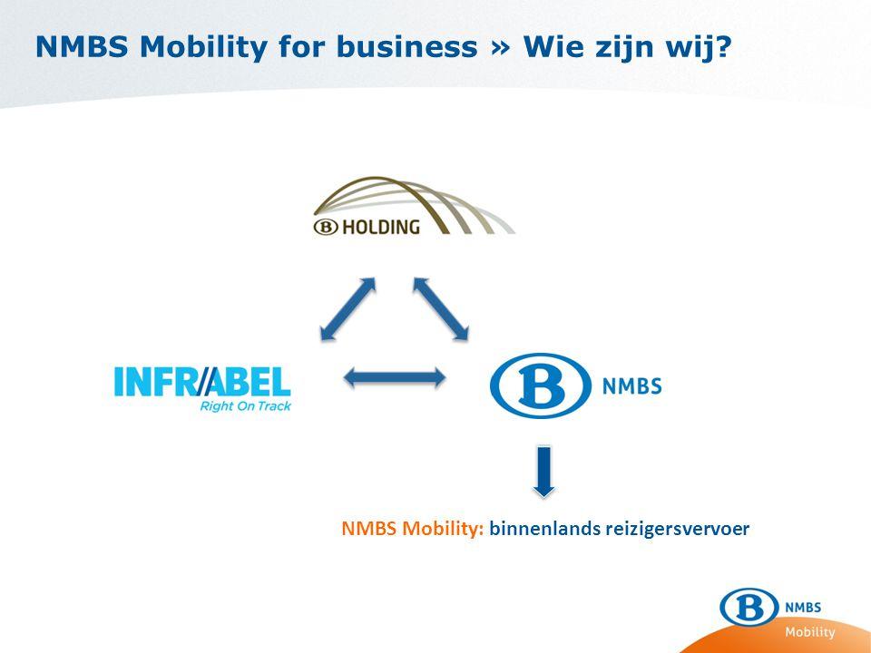 NMBS Mobility for business » Wie zijn wij