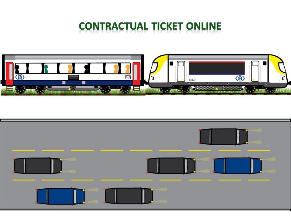 Contractual ticket online