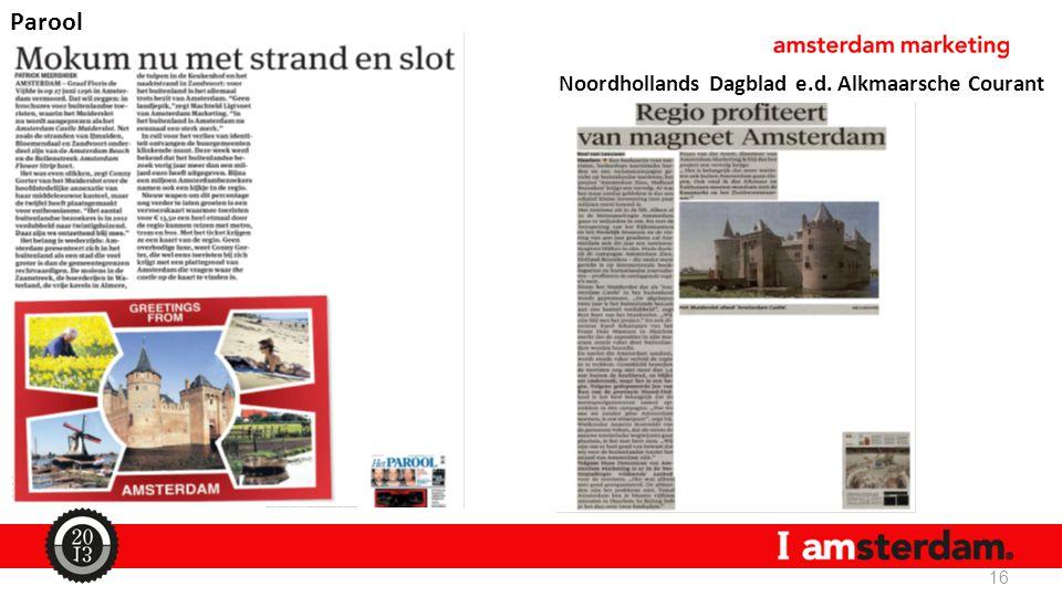 Parool Noordhollands Dagblad e.d. Alkmaarsche Courant