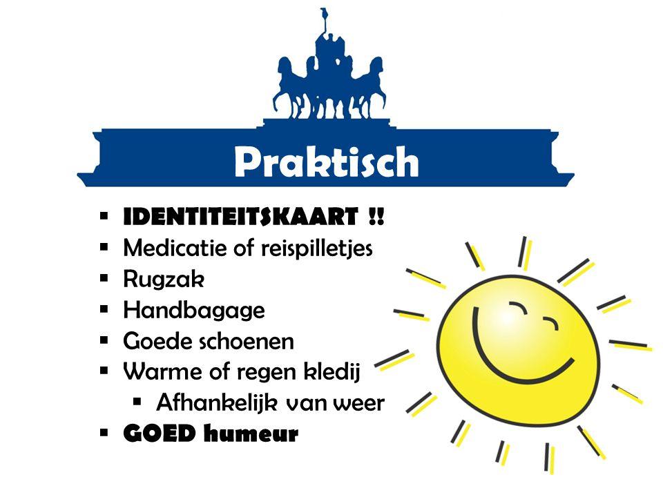 Praktisch IDENTITEITSKAART !! Medicatie of reispilletjes Rugzak