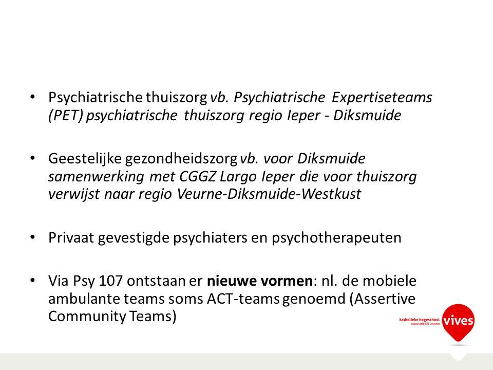 Psychiatrische thuiszorg vb