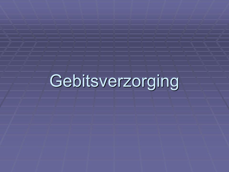 Gebitsverzorging