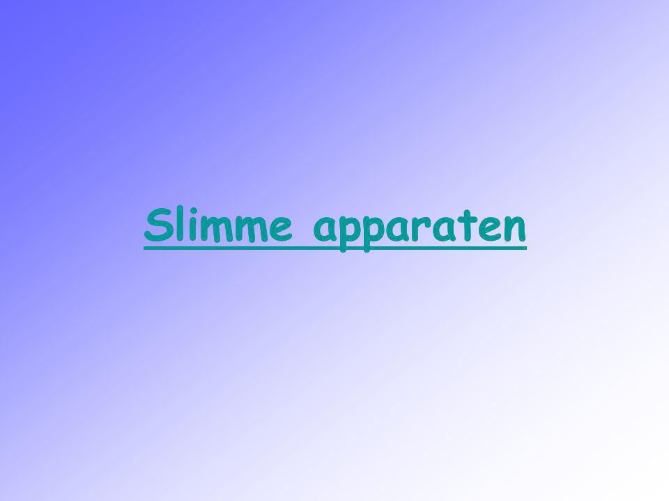 Slimme apparaten Slimme apparaten