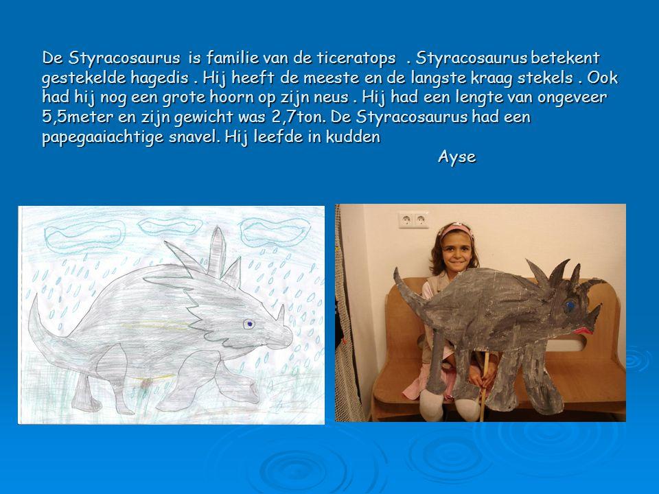 De Styracosaurus is familie van de ticeratops