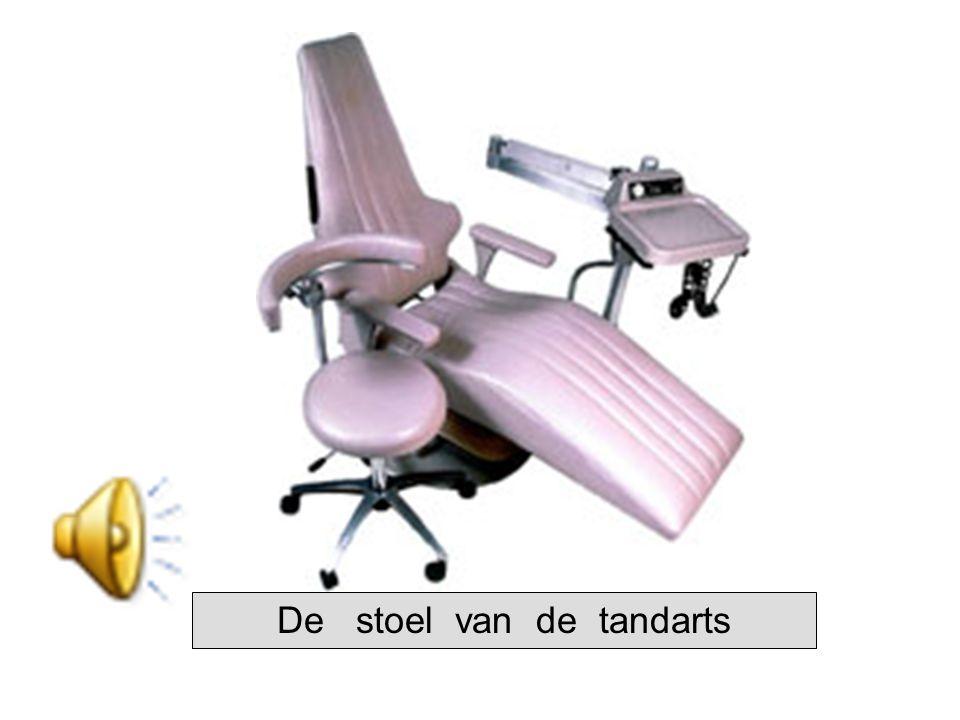 De stoel van de tandarts