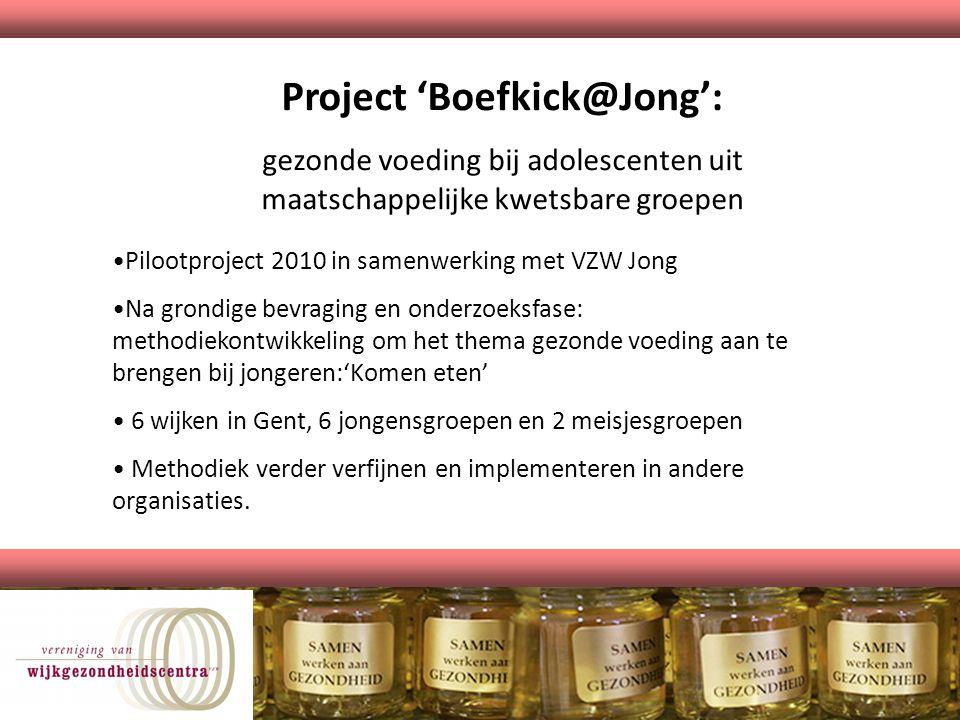 Project 'Boefkick@Jong':