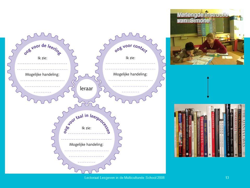 Lectoraat Lesgeven in de Multiculturele School 2008
