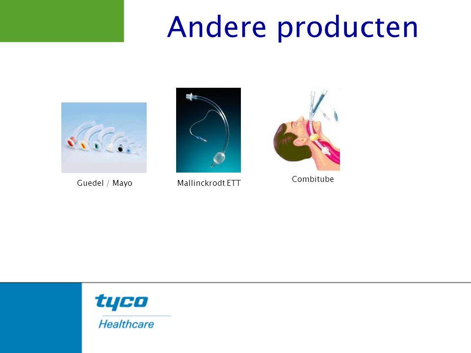 Andere producten Combitube Guedel / Mayo Mallinckrodt ETT